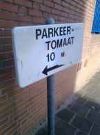 'Parking-tomato.'