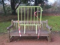 Parc bench.